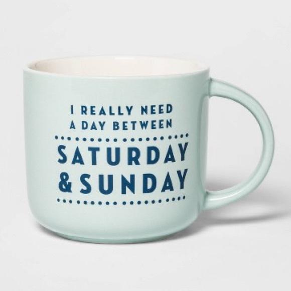 Threshold Other - Threshold Saturday & Sunday mug